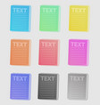 frames futuristic style vector image vector image