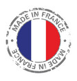 made in france flag grunge icon vector image vector image
