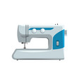modern sewing machine dressmakers equipment vector image vector image