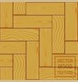 realistic brown wooden parquet floor texture vector image vector image