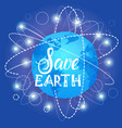save earth world environment day ecology vector image