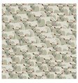 Seamless pattern all sheep vector image vector image