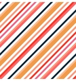 Simple retro geometric striped pattern Background vector image