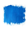 square blue watercolour banner vector image vector image