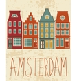 Amsterdam city vector image vector image