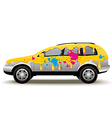 Car Painting vector image vector image