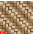 realistic braided wooden wicker seamless texture vector image