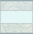 template in art-nouveau style vector image vector image