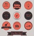 Car Auto Parts Vintage Label Design vector image