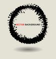 abstract circle texture background template vector image vector image