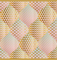 abstract luxury seamless pattern vector image vector image