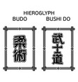 bushido budo 0002 vector image