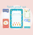 cute hand drawn doodle birthday party baby shower vector image vector image