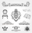 Elements vintage vector | Price: 1 Credit (USD $1)