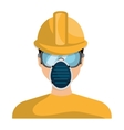 Industrial security equipment isolated icon vector image vector image