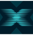 letter X abstract background vector image vector image
