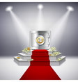Realistic Money Performance vector image vector image
