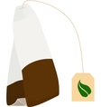 tea bag disposable icon vector image