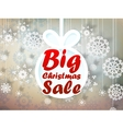 Christmas sale background EPS10 vector image