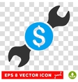 Repair Price Eps Icon vector image vector image