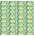 Seamless triangle background vector image vector image
