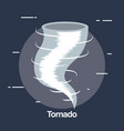Twister weather symbol icon