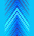 blue light arrow direction design modern vector image