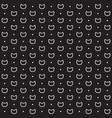 cat pattern dots and kittens vector image