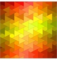 Colorful mosaic backdrop vector image vector image
