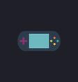 Game gadget computer symbol vector image
