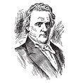 james buchanan vintage vector image vector image
