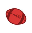 rugor american football ball sport vector image