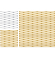 Set of Abstract Gold and Silver Texture vector image vector image