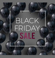 Black friday sale banner low poly