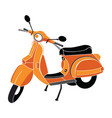 classic scooter vector image