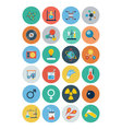Flat Science and Technology Icons 2 vector image vector image