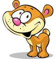 funny cute bear vector image vector image