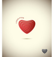 Logo Heart symbol Icon web vector image vector image