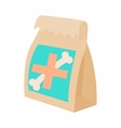 Packaging medication for animals icon vector image vector image