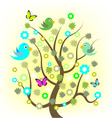 Spring tree vector | Price: 1 Credit (USD $1)