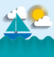 summer holiday design vector image vector image