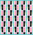 memphis style geometric abstract seamless drawn vector image vector image