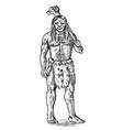 primitive people prehistoric period ancient vector image vector image