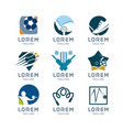 sport logo set vector image vector image