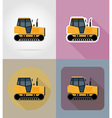 transport flat icons 32 vector image vector image