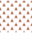 wedding cake pattern vector image vector image