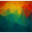 abstract geometric triangles background vector image vector image