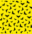 bats seamless background halloween vector image