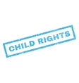 Child Rights Rubber Stamp vector image vector image