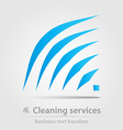 Cleaning service business icon vector image vector image